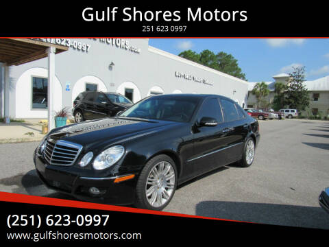 2007 Mercedes-Benz E-Class for sale at Gulf Shores Motors in Gulf Shores AL