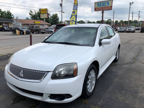 2010 Mitsubishi Galant for sale at Neals Auto Sales in Louisville KY