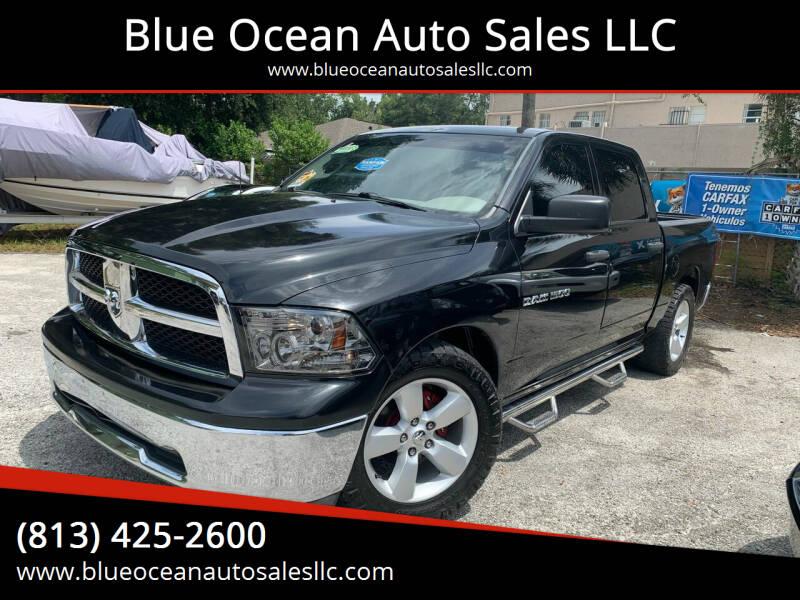 2011 RAM Ram Pickup 1500 for sale at Blue Ocean Auto Sales LLC in Tampa FL