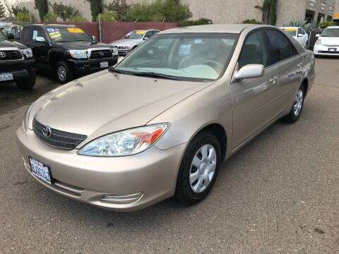 2002 Toyota Camry for sale at C. H. Auto Sales in Citrus Heights CA