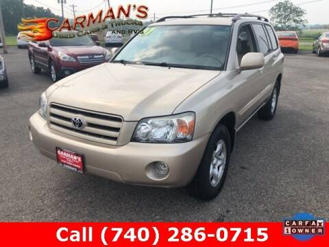 2007 Toyota Highlander for sale at Carmans Used Cars & Trucks in Jackson OH