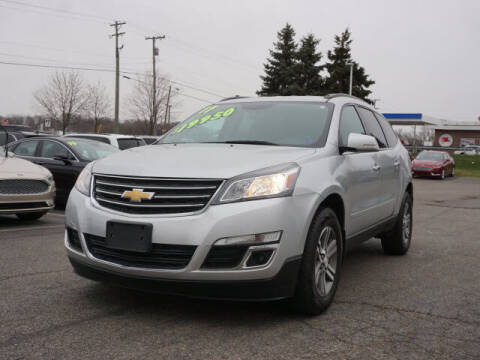 2017 Chevrolet Traverse for sale at FOWLERVILLE FORD in Fowlerville MI