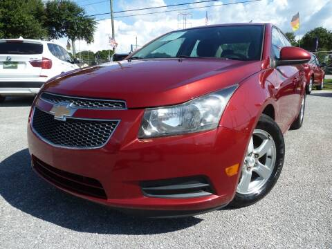 2013 Chevrolet Cruze for sale at Das Autohaus Quality Used Cars in Clearwater FL