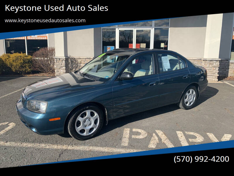 2003 Hyundai Elantra for sale at Keystone Used Auto Sales in Brodheadsville PA