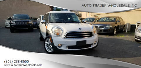 2014 MINI Paceman for sale at Auto Trader Wholesale Inc in Saddle Brook NJ