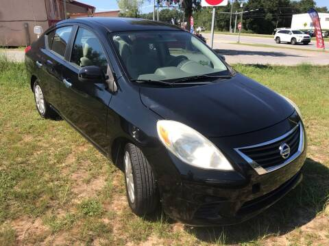 2012 Nissan Versa for sale at Nash's Auto Sales Used Car Dealer in Milton FL
