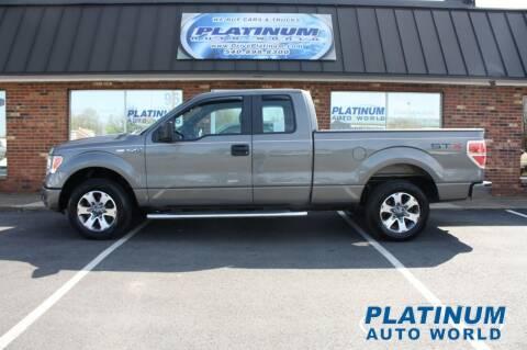 2013 Ford F-150 for sale at Platinum Auto World in Fredericksburg VA