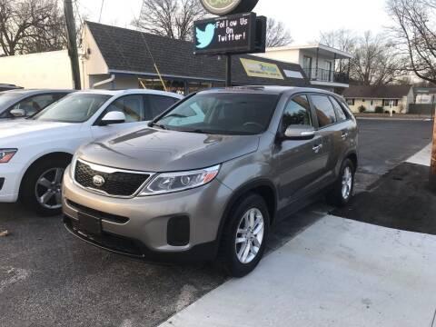 2014 Kia Sorento for sale at Brucken Motors in Evansville IN