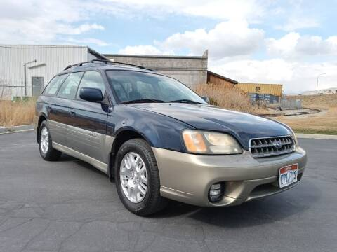 2004 Subaru Outback for sale at AUTOMOTIVE SOLUTIONS in Salt Lake City UT