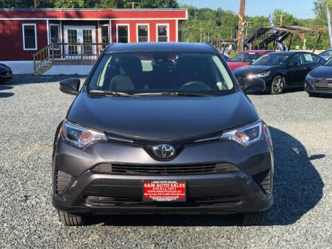 2018 Toyota RAV4 for sale at A&M Auto Sales in Edgewood MD