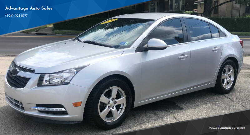 2014 Chevrolet Cruze for sale at Advantage Auto Sales in Wheeling WV