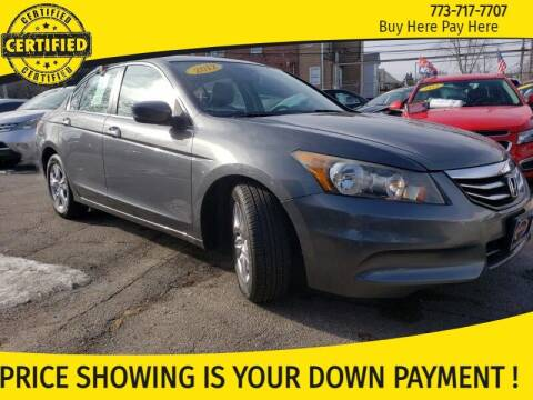 2012 Honda Accord for sale at AutoBank in Chicago IL