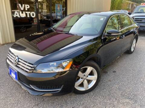 2013 Volkswagen Passat for sale at VP Auto in Greenville SC