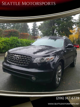 2005 Infiniti FX35 for sale at Seattle Motorsports in Shoreline WA