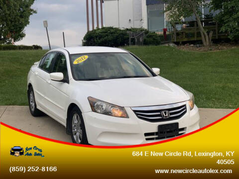 2012 Honda Accord for sale at New Circle Auto Sales LLC in Lexington KY