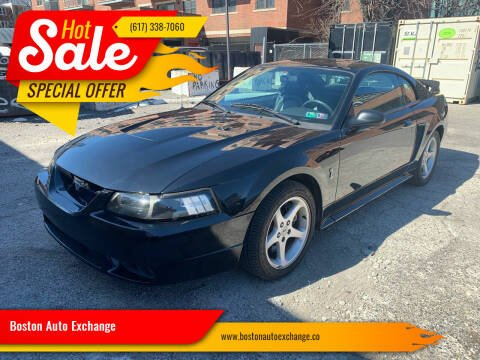 2001 Ford Mustang SVT Cobra for sale at Boston Auto Exchange in Boston MA