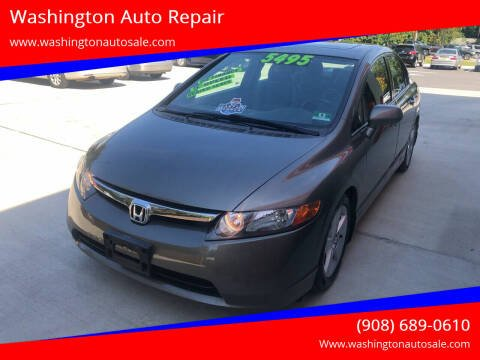 2008 Honda Civic for sale at Washington Auto Repair in Washington NJ