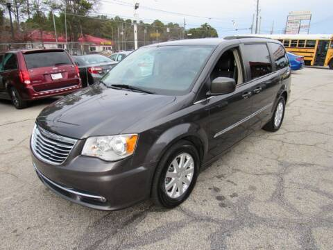 2016 Chrysler Town and Country for sale at King of Auto in Stone Mountain GA