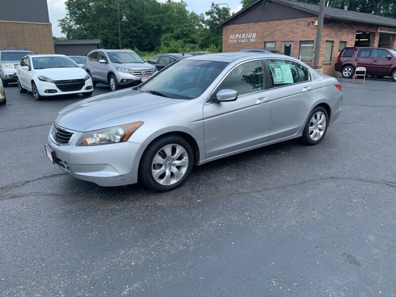 2010 Honda Accord for sale at Superior Used Cars Inc in Cuyahoga Falls OH