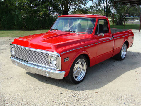 1972 Chevrolet C/K 10 Series for sale at Texas Truck Deals in Corsicana TX