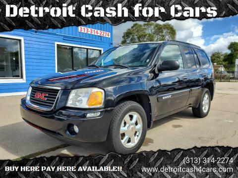 2004 GMC Envoy for sale at Detroit Cash for Cars in Warren MI