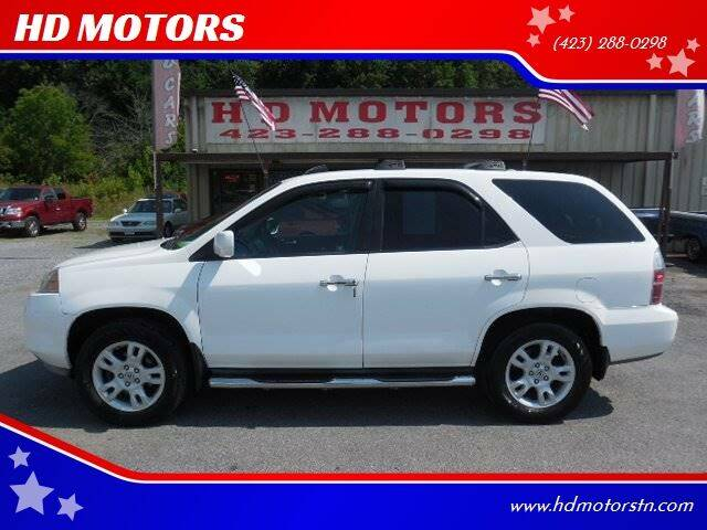 2006 Acura MDX for sale at HD MOTORS in Kingsport TN