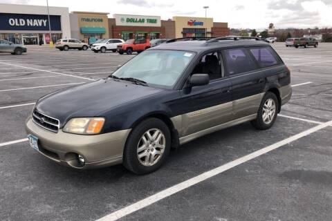 2002 Subaru Outback for sale at Cannon Falls Auto Sales in Cannon Falls MN