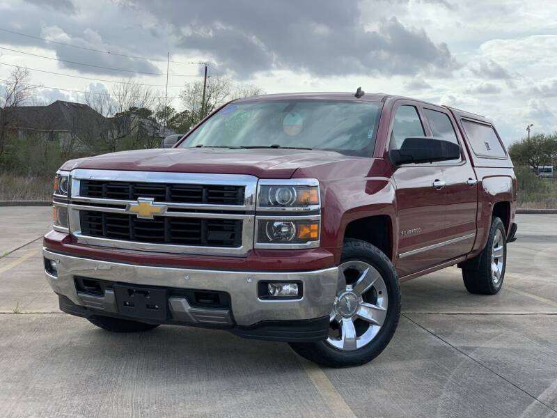 2014 Chevrolet Silverado 1500 for sale at AUTO DIRECT Bellaire in Houston TX