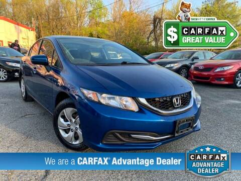 2014 Honda Civic for sale at High Rated Auto Company in Abingdon MD