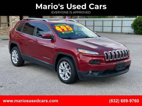 2014 Jeep Cherokee for sale at Mario's Used Cars - Pasadena Location in Pasadena TX