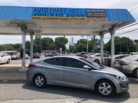 2014 Hyundai Elantra for sale at Auto Smart Charlotte in Charlotte NC