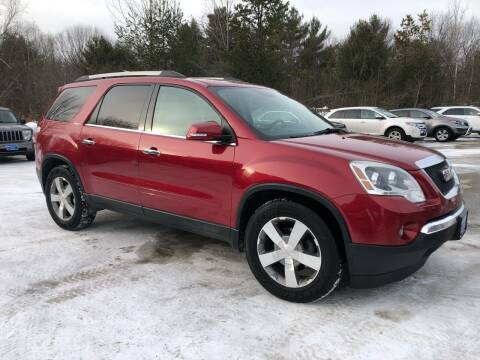 2012 GMC Acadia for sale at Downeast Auto Inc in South Waterboro ME