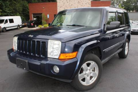 2006 Jeep Commander for sale at Atlanta Unique Auto Sales in Norcross GA