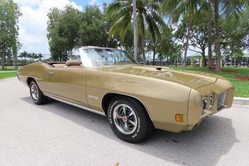 1970 Pontiac GTO for sale at Progressive Motors in Pompano Beach FL