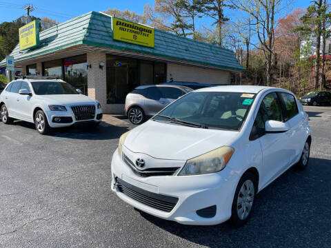 2012 Toyota Yaris for sale at Diana Rico LLC in Dalton GA