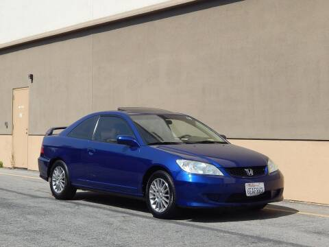 2005 Honda Civic for sale at Gilroy Motorsports in Gilroy CA