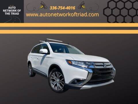 2016 Mitsubishi Outlander for sale at Auto Network of the Triad in Walkertown NC