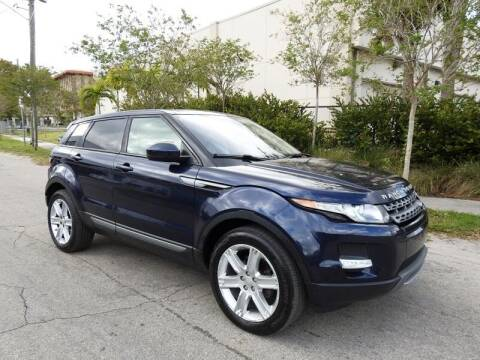2015 Land Rover Range Rover Evoque for sale at SUPER DEAL MOTORS in Hollywood FL