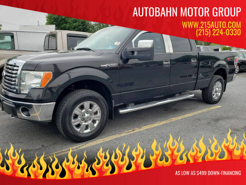 2010 Ford F-150 for sale at Autobahn Motor Group in Willow Grove PA