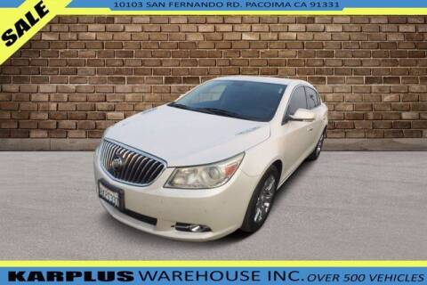 2013 Buick LaCrosse for sale at Karplus Warehouse in Pacoima CA
