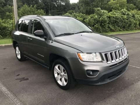 2012 Jeep Compass for sale at J & D Auto Sales in Dalton GA