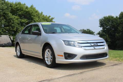 2012 Ford Fusion for sale at Harrison Auto Sales in Irwin PA
