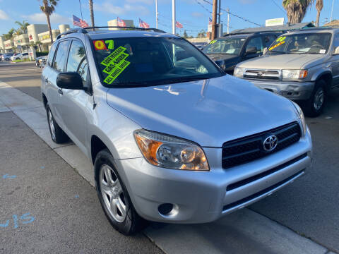 2007 Toyota RAV4 for sale at North County Auto in Oceanside CA