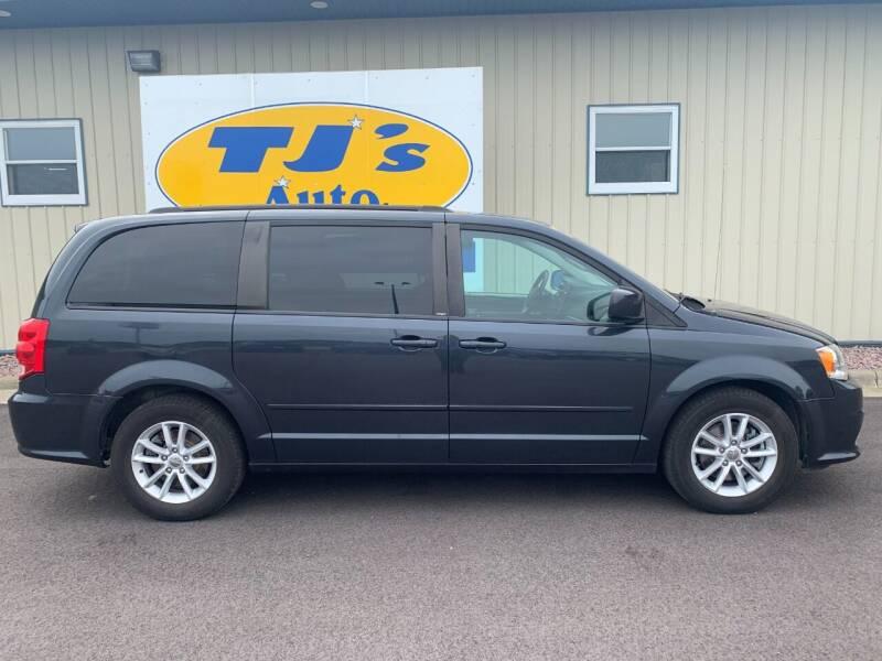 2014 Dodge Grand Caravan for sale at TJ's Auto in Wisconsin Rapids WI