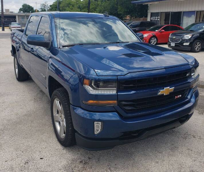 2018 Chevrolet Silverado 1500 for sale at Apex Auto SA in San Antonio TX