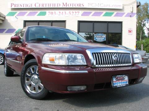 2008 Mercury Grand Marquis for sale at Prestige Certified Motors in Falls Church VA