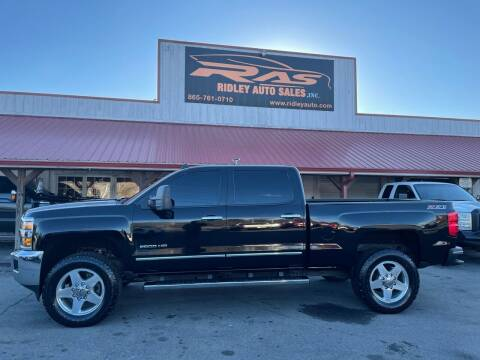 2015 Chevrolet Silverado 2500HD for sale at Ridley Auto Sales, Inc. in White Pine TN