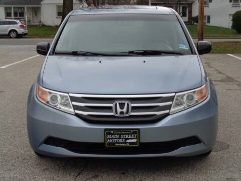 2011 Honda Odyssey for sale at MAIN STREET MOTORS in Norristown PA