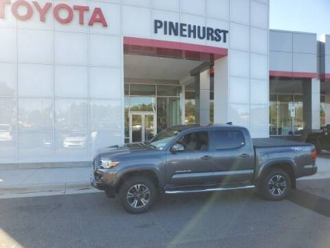 2018 Toyota Tacoma for sale at PHIL SMITH AUTOMOTIVE GROUP - Pinehurst Toyota Hyundai in Southern Pines NC