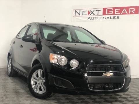 2012 Chevrolet Sonic for sale at Next Gear Auto Sales in Westfield IN